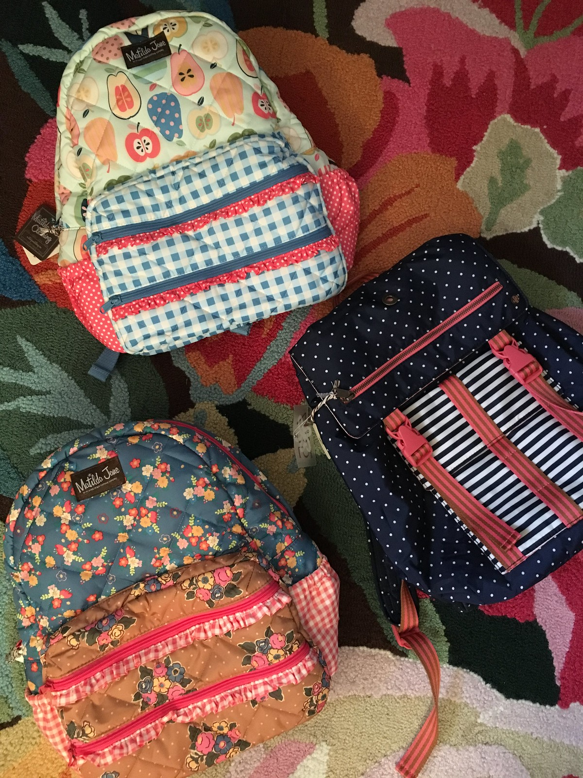 Matilda Jane's Back to School Backpack promo