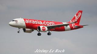 AIRBUS A320-251NEO AIR ASIA F-WWIX MSN7677 (9M-AGE) A L'AEROPORT TOULOUSE-BLAGNAC LE 10 07 17