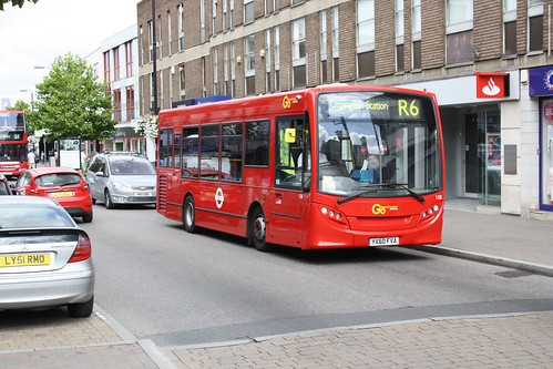 Go-Ahead London 158 YX60FVA