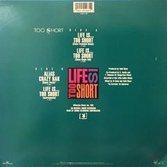 TOO SHORT:LIFE IS TOO SHORT(JACKET B)
