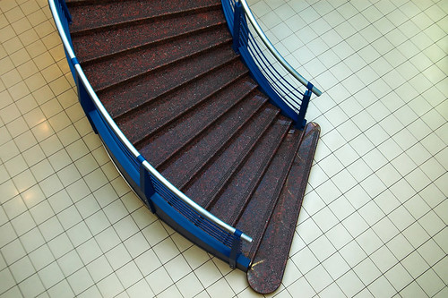 Stair in the mall