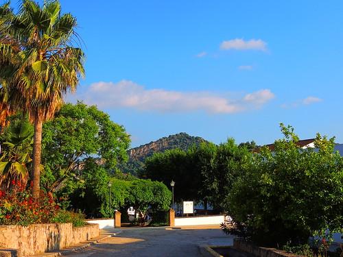 <Jardines Juan Jimenez El Monago> Coripe (Sevilla)