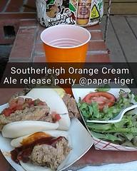 @southerleigh #southerleigh #orangecreamale #papertiger #letsparde