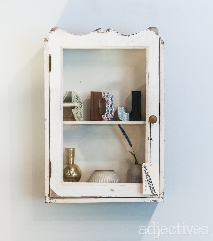 Small White Wall Glass Cabinet at Adjectives