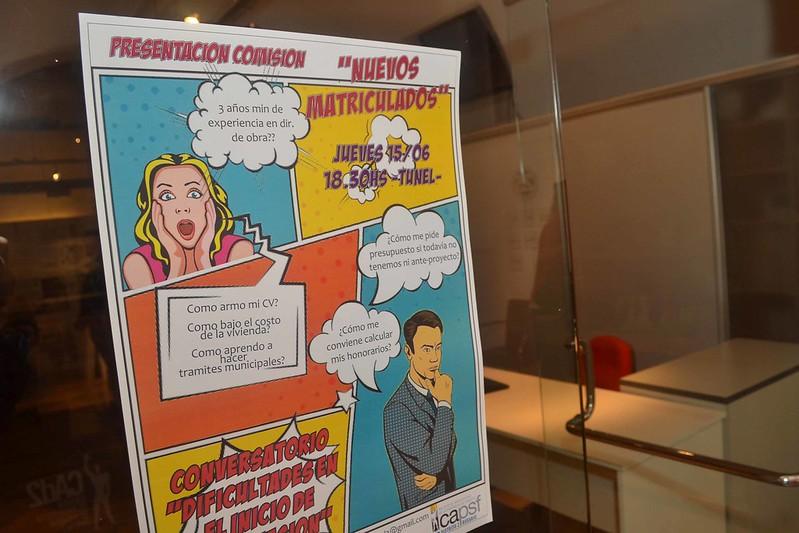 PRESENTACIÓN COMISION NUEVOS MATRICULADOS + CONVERSATORIO
