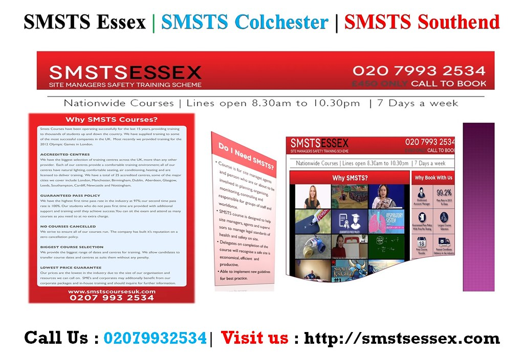 BEST SMSTS Colchester, SMSTS Centres, UK