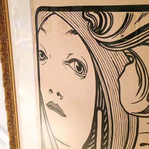 直接的に、あるいは間接的に、日本のイラストレーターや漫画家にも影響を与えてるのがわかる。