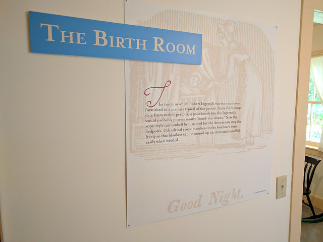 Robert Ingersoll Birth room