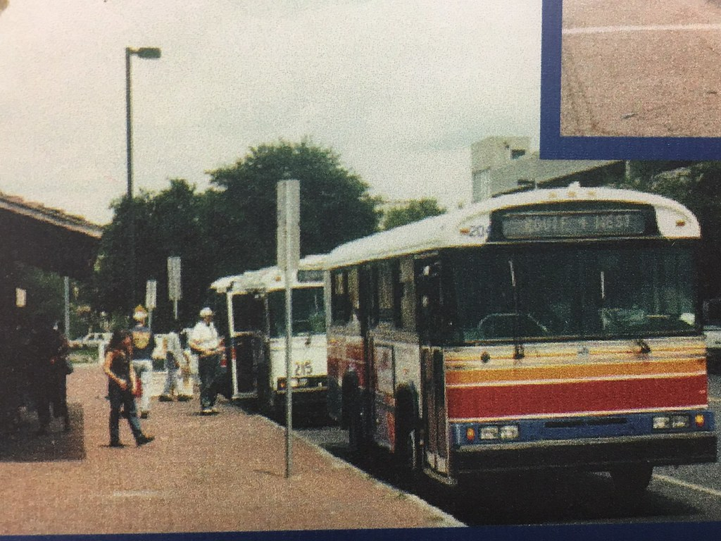RTS buses on Downtown Plaza (1990's)