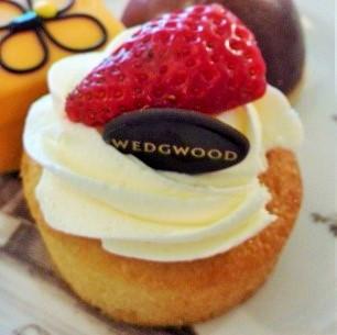 ウェッジウッドのスポンジケーキ WEDGWOOD's cake