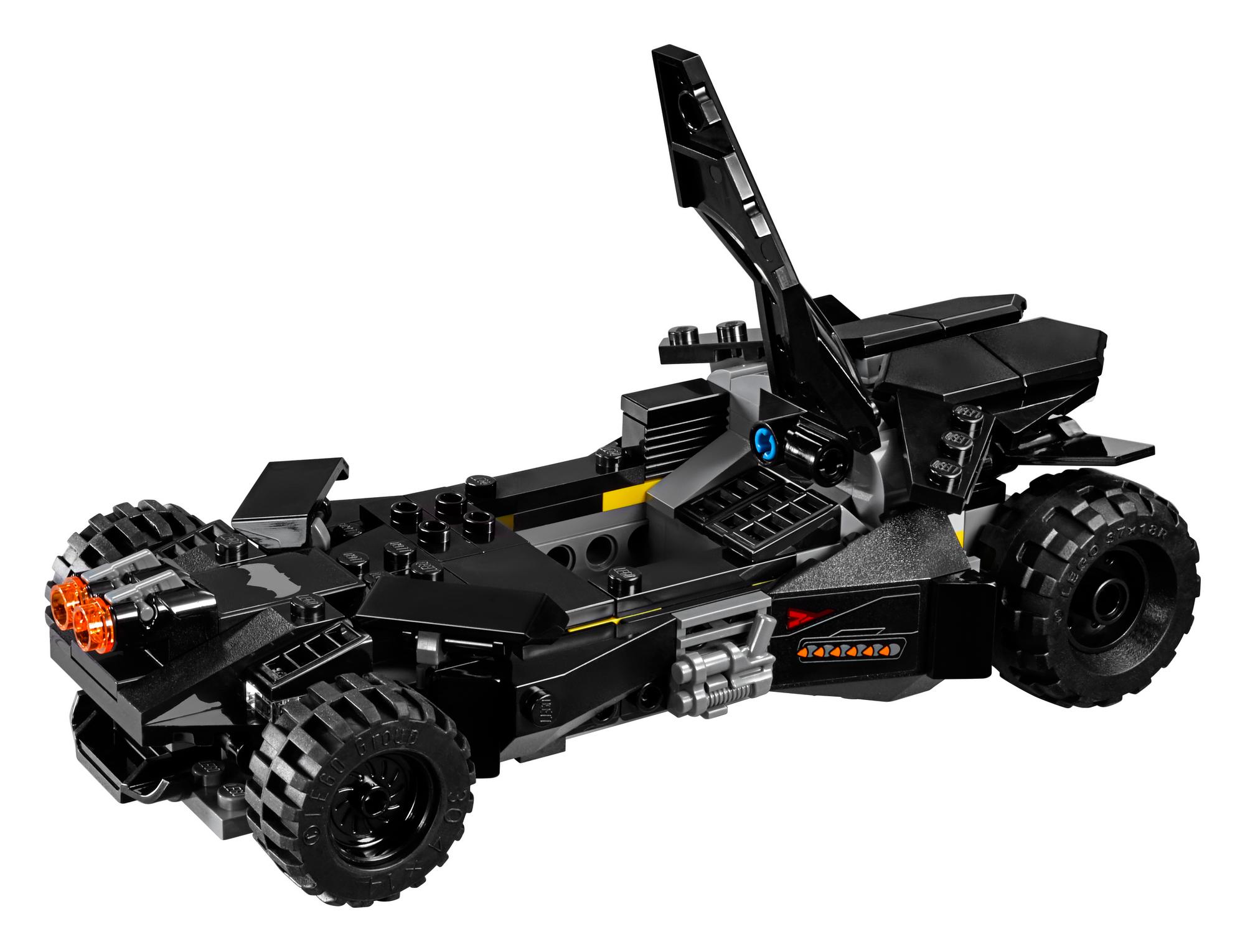Batmobile Canopy Open