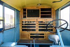 Helms Bakery Divco Coach Interior