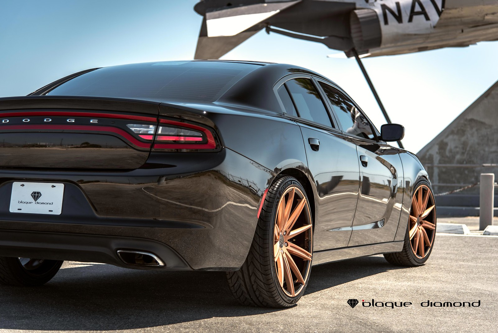 2014_Dodge_Charger_BD9_22_inch_Penny_Copper_Gloss_Black_Barrel-4