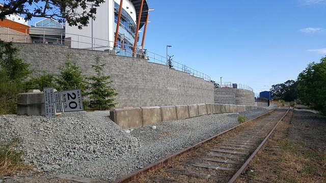 E&N Rail Trail past Wellness Centre