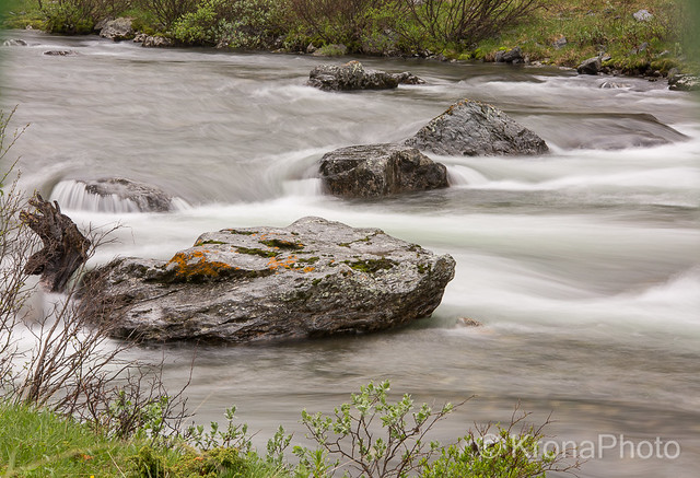 River motion, Driva, Oppdal, Norway