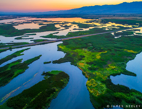 utah cachevalley cutlerslough sunrise jamesneeley