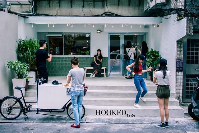 台北/大安–品牌元素的結合– Hooked To Go 著迷咖啡外帶吧