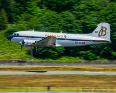 The Breitling DC-3 Glides Into Seattle