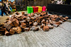 Wood for the fires to cook the food at Tasting Australia