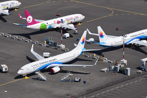 737's on Flightline