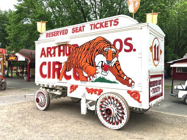 Arthur Bros Circus Wagon