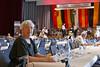 Für Barbara Schwarzmann (Blums Wawi, 764) ist der Trubel zu anstrengend, sie hat lieber in der Badnerlandhalle Platz genommen