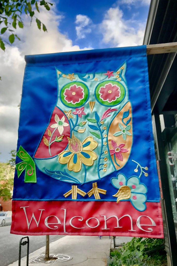 Welcoming owl