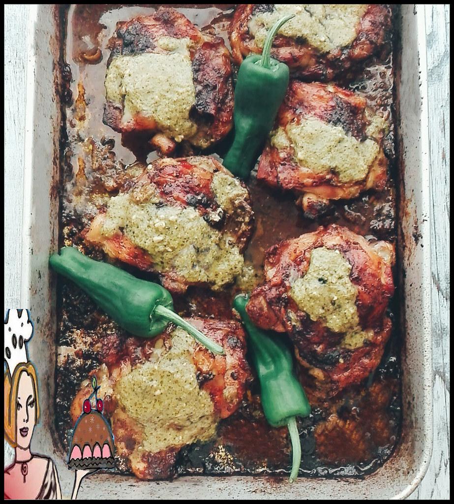 coxinhas de frango com molho pesto