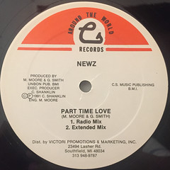 NEWZ:ISHOULD HAVE KNOWN(LABEL SIDE-B)