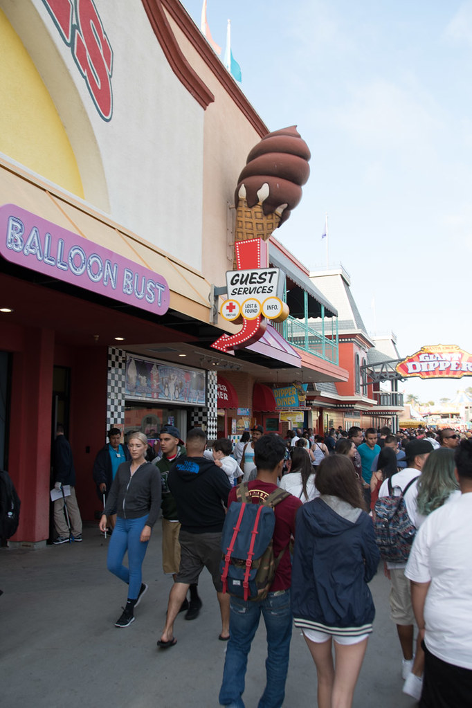 Ice Cream Stand at Santa Cruz Boardwalk