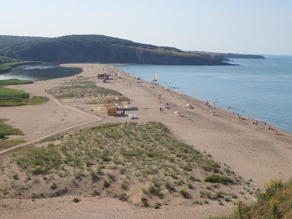 Veleka beach, SE Bulgaria