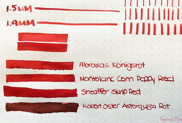 Ink Shot Review Abraxas Kónigsrot of Switzerland @laywines 3