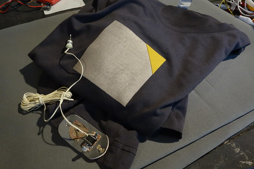 XL vl-t-shirt sensor