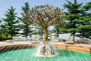 "Fountain ""Tree of Wishes"""