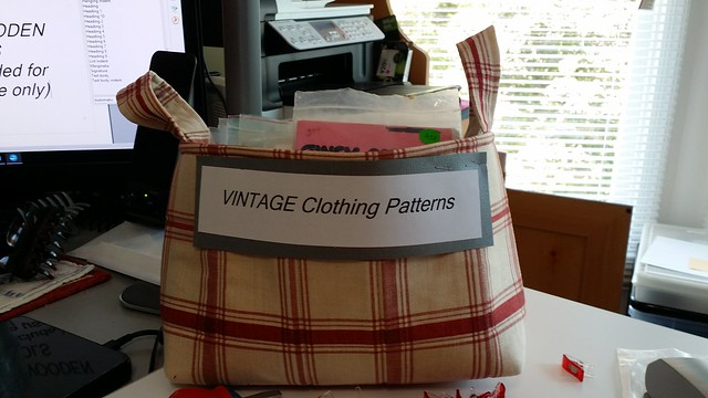 Vintage clothing patterns