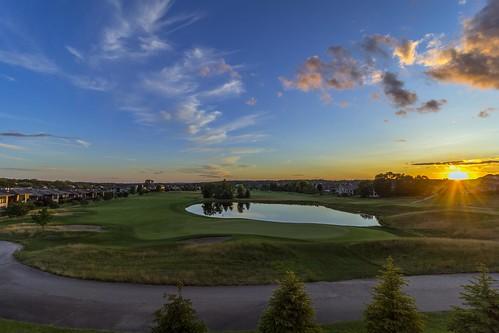 canon 60d canon60d unitedstates wisconsin summer goldenhour sunset verona wi golf golfcourse golfclub hawkslanding