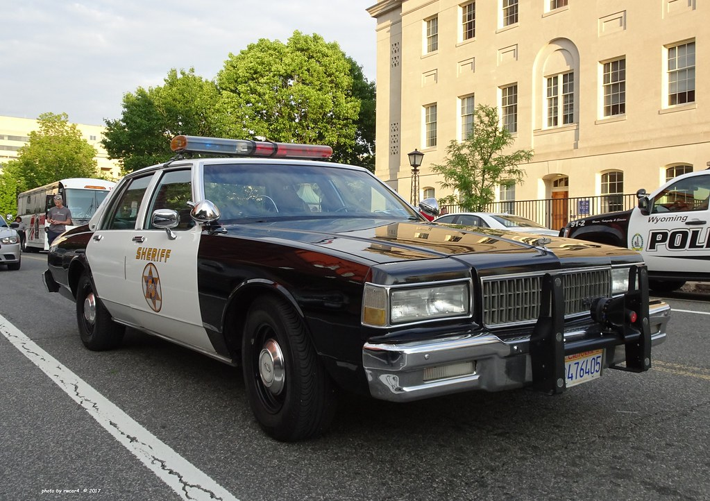 Los Angeles County California Sheriff Department  -  1987 Chevrolet Caprice restored (9)