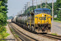 CSX 59 | GE AC4400CW | NS Memphis District