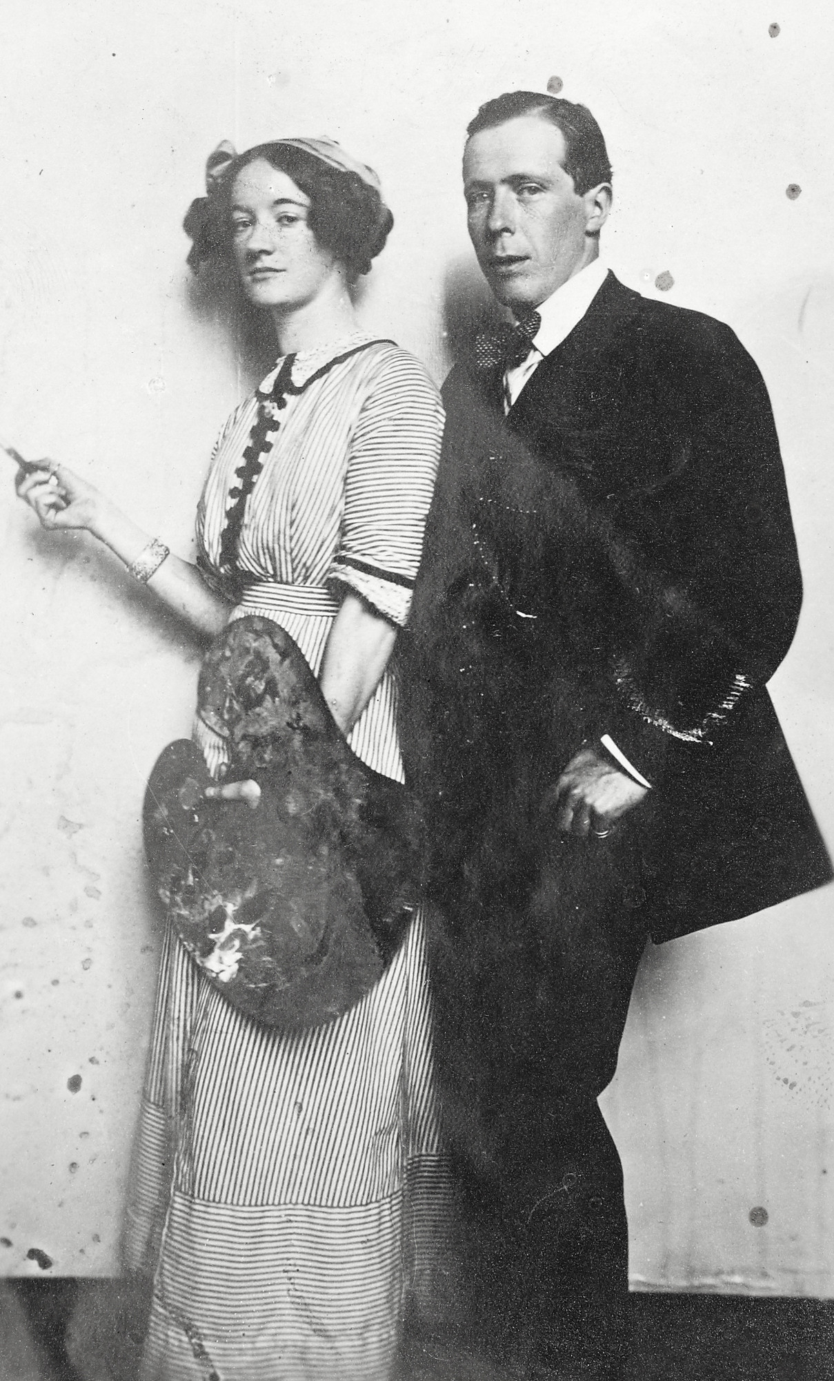 Mrs Joseph Plunkett and Sir William Orpen