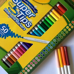 markers used for Color Squared