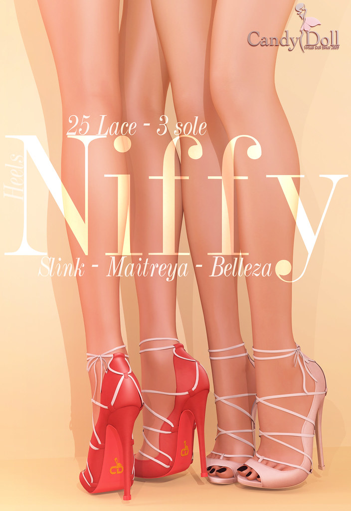 Niffy Heels - SecondLifeHub.com
