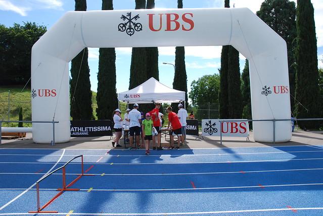 Athletissima Montreux 2017 - les bénévoles