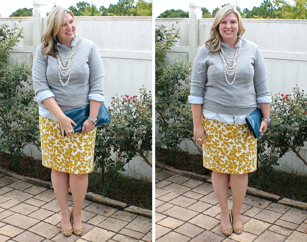 mom style remix chambray yellow