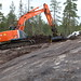 Zaxis 225 with engcon Tiltrotator