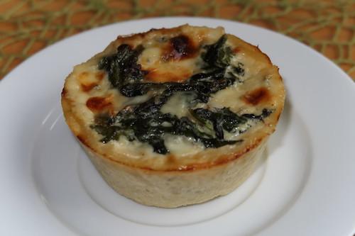 Spinat-Käse-Törtchen