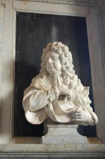 Goudhurst, St Mary's church, Campion bust