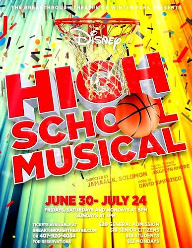 Disney's 'High School Musical' at Breakthrough Theatre