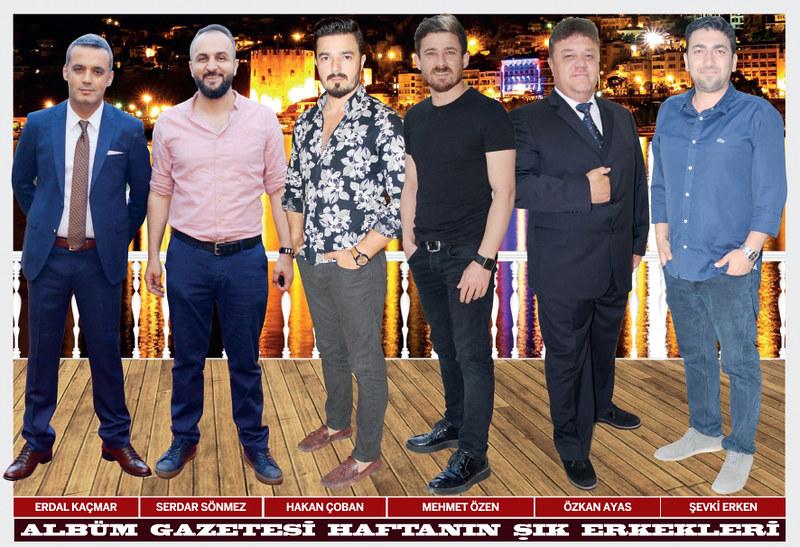 Erdal Kaçmar, Serdar Sönmez, Hakan Çoban, Mehmet Özen, Özkan Ayas, Şevki Erken