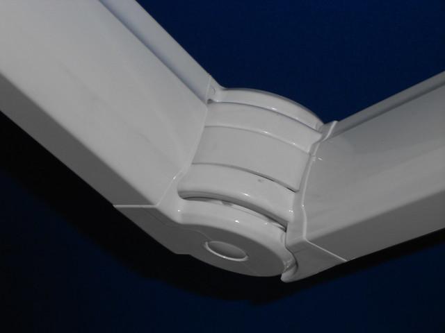 Snodo centrale del gomito tenda a bracci estensibili lubrificare questa parte se cigola