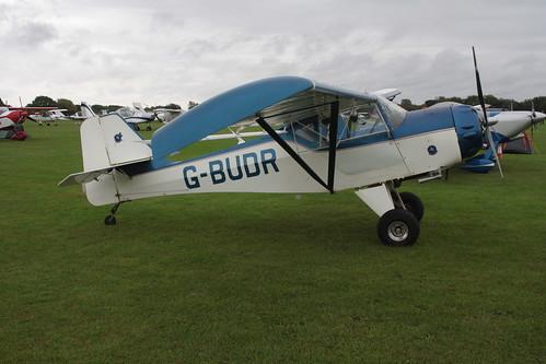 G-BUDR Denny Kitfox Sywell 050915